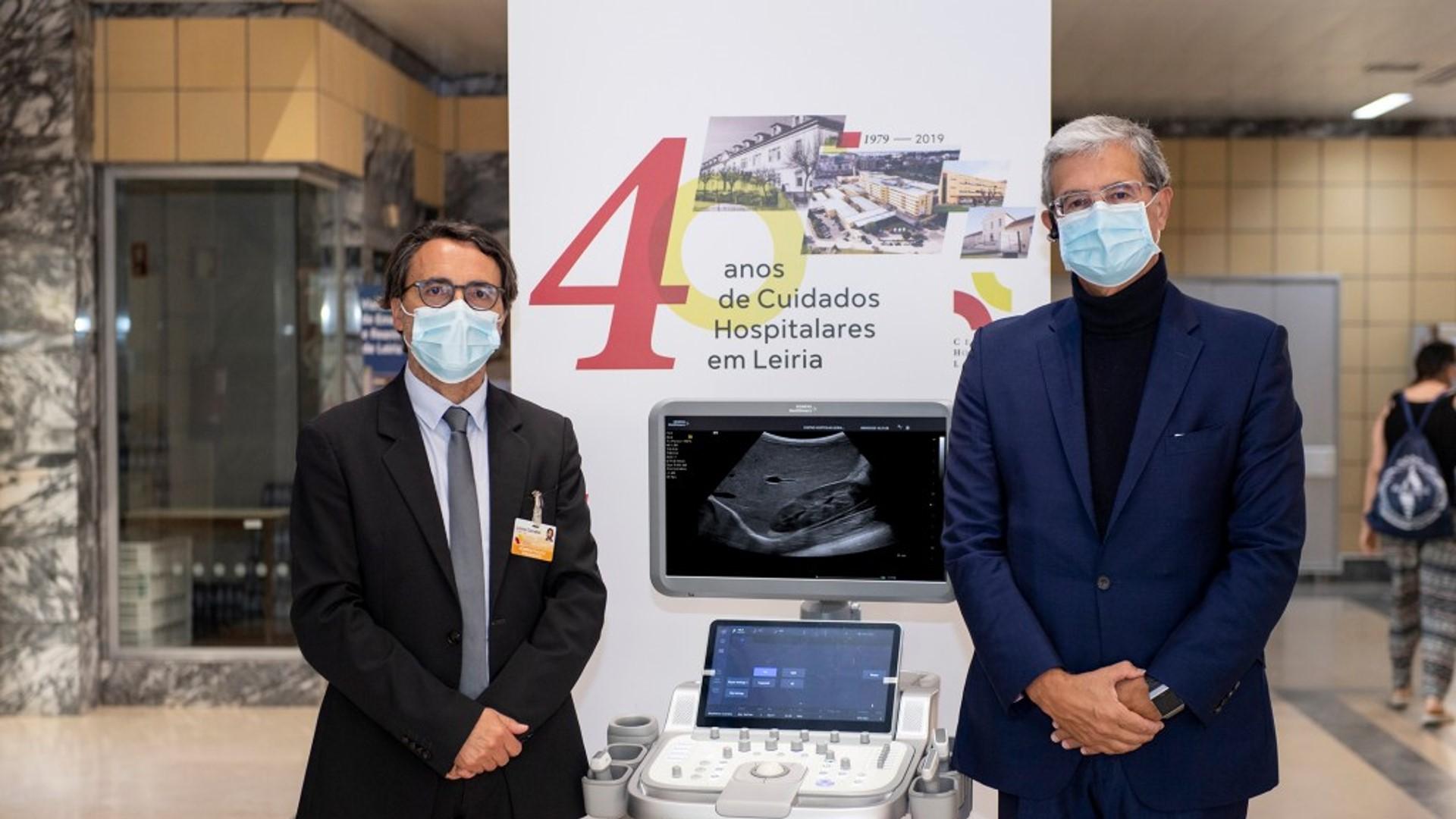 Siemens doa dois equipamentos de ecografia pulmonar ao SNS