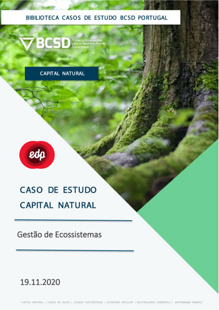 Caso de Estudo | Capital Natural – EDP