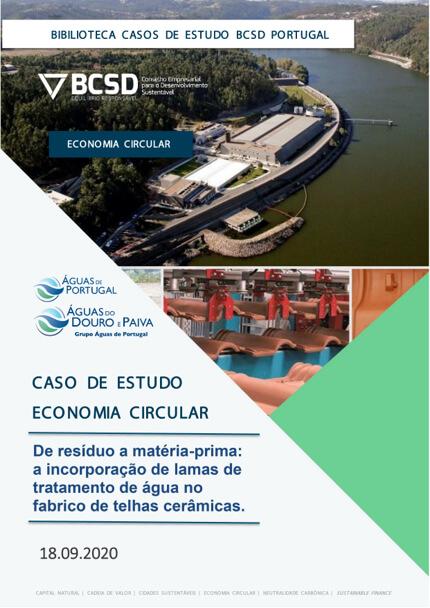 Caso de Estudo | Economia Circular – Águas de Portugal – De resíduo a matéria prima