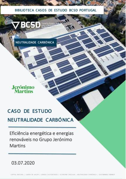 Caso de Estudo | Neutralidade Carbónica – Jerónimo Martins