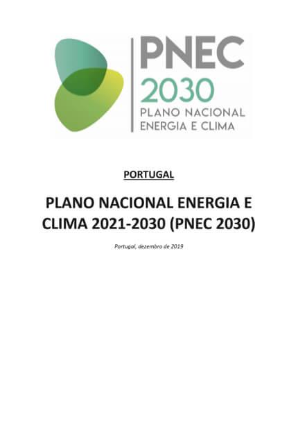 PNEC 2030 Plano Nacional Energia e Clima