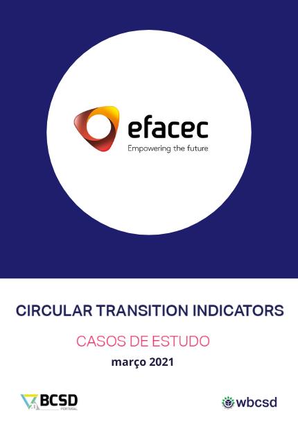 Caso de estudo – Indicadores de Transição Circular | Efacec
