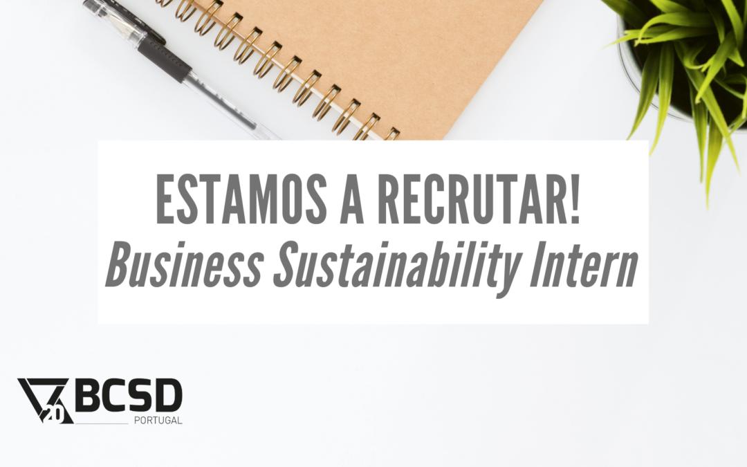 BCSD Portugal está a recrutar – Business Sustainability Intern