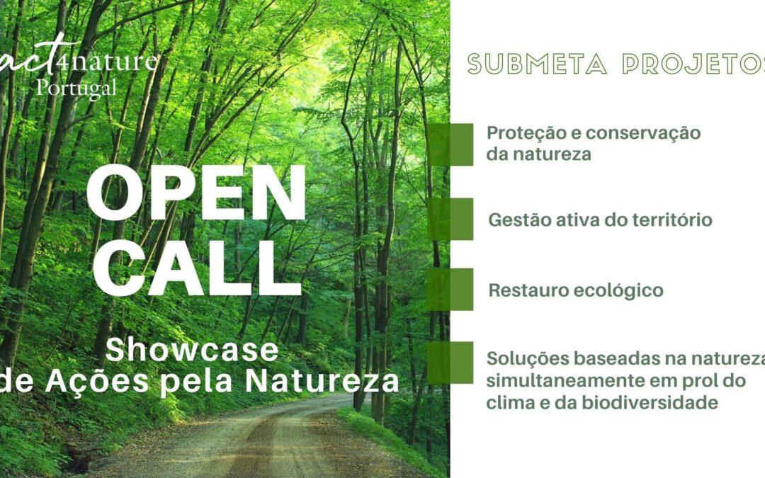 Open Call para apresentação de Projetos e Iniciativas de Conservação da Natureza